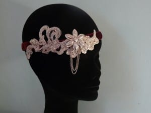 Natalie-Joy, N.Joy.Millinery, Millinery, hats, fascinator, headwear, headpiece, hair comb, bridal, 1920's, roaring 20s, The Great Gatsby, The Alverton, Cornwall, Truro, New Years Eve,