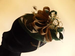 N.Joy.Millinery, Natalie Joy, Njoy, N.Joy, Natalie Joy Richards, Natalie-Joy, Natalie-Joy Richards, hat, hats, Milliner, millinery, mad hatter, hat maker, hat designer, fashion designer, fashion maker, costume designer, costume maker, headwear, headdress, headpiece, hairslide, hairclip, hair piece, hair comb, bridal, mother of the bride, bridal hair accessories, hair accessories, head band, Made in Cornwall, Cornwall, Truro, Sinamay, sinnamay, felt, lace, beading, swaroski crystals, pearls, 1920's headdress, black and white, top hat, cloche, beret, fascinator, fascinater, feathered headband, tear drop shaped fascinator, gold sinamay, green sinamay, emerald green sinamay, hand dyed sinamay, sinamay loops, sinamay bow, metalick veiling, gold veiling, merry widow veiling, hat veiling, antique broach, gold broach, filagree broach, stripped feathers, gold feather, white feathers, hand dyed feathers, curled feathers, handmade headband, couture headband, handmade, handmade headband, commision, one off
